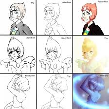 Pearl Meme - switch around meme pearl steven universe by leandraw on deviantart