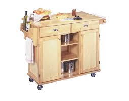 Wheeled Kitchen Islands Brilliant Portable Kitchen Island Islands And Carts On Hayneedle