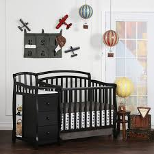 Crib And Bed Combo On Me Casco 4 In 1 Mini Crib And Dressing Table Combo