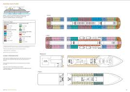 Cruise Ship Floor Plans by P U0026o Cruises Adonia Deck Plans