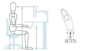 postura corretta scrivania mal di schiena addio in ufficio seduti cos祠 repubblica salute