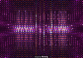 vector background of purple led lights free vector