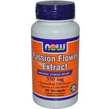 now foods passion flower 350 mg 90 veg capsules iherb com