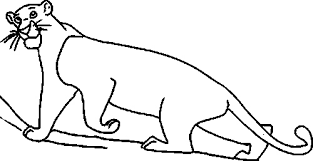 jungle book bagheera coloring pages vultures jungle