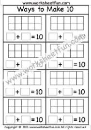 making 9 u2013 one worksheet printable worksheets pinterest