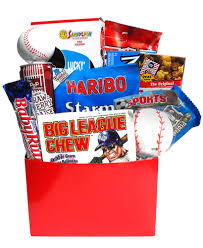baseball gift basket sweet janes