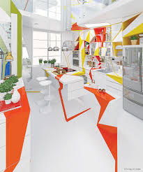 inspired home interiors colorful kandinsky inspired home interior by brani and http