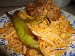 cuisine arabe macaronis arabes pâtes façon grand mère cuisine de zika