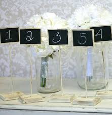 wedding table number holders diy table number holders thelt co