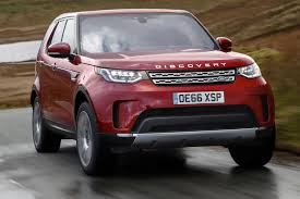 land rover discovery 2016 red land rover discovery sd4 2017 review by car magazine