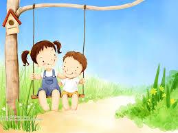 Wallpaper Children Illustration Art Of Lovely Children 1024x768 No 28 Desktop