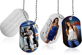 photo engraved dog tags specialty product information custom accessories