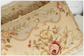 shabby chic sofa bed and shabby cottage floral chic embroidered