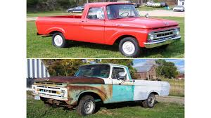 Old Ford Unibody Truck - 8 facts you didn u0027t know about the 61 63 ford unibody trucks ford