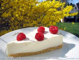 philadelphia torte mit zitrone und himbeeren keeprecipes your