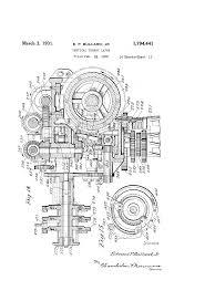 patent us1794441 vertical turret lathe google patents
