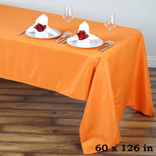 6 Foot Fitted Tablecloth 60