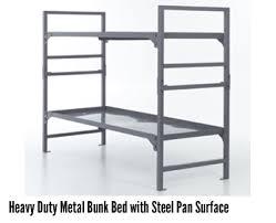 Heavy Duty Metal Bunk Beds Metal Beds Intensive Use Commercial Grade - Steel bunk beds
