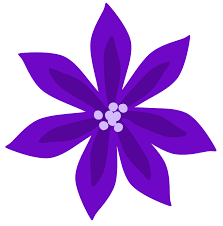 Purple Lillies Free Lily Flower Clipart 46