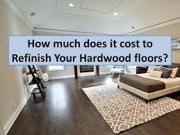 how much does it cost to refinish hardwood floors in westchester