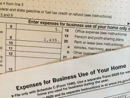 taxes and deductions for home based businesses