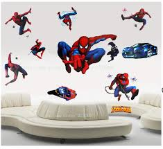assembled size princesses combination wall stickers free shipping vinyl cartoon stickers spiderman generation wall thick and high quality room decor