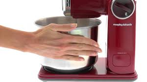 Morphy Richards Plum Kitchen Accessories Morphy Richards Folding Stand Mixer 400404 Youtube