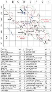 Sonoma State Map by Local Hotspots Madrone Audubon Society