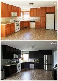 Diy Kitchen Cabinets Makeover Glazing Kitchen Cabinets As Easy Makeover You Can Do On Your Own