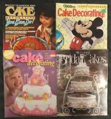 birthday yearbook vtg wilton cake decorating bridal wedding birthday yearbook lot