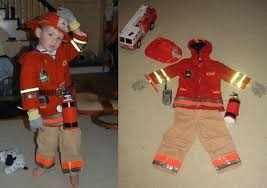 Fireman Costume 5 Diy Halloween Costumes Made From Materials You Already Own