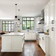 pictures of kitchen cabinets at lowe s allen roth aveley 14 562 in w x 14 5 in h linen kitchen cabinet sle door sle