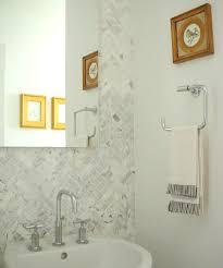 Herringbone Marble Backsplash by Herringbone Pattern Backsplash Design Ideas