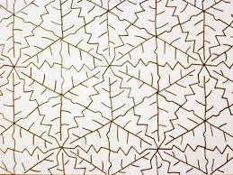 almost unschoolers fall leaf tessellation coloring sheet 73949