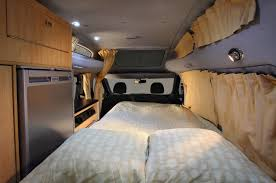 camper van layout fiat doblo dynamic from danbury campervans caravans and trailers