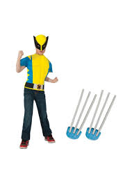 Halloween Costumes Wolverine Wolverine Boys Muscle Shirt Claws Boys Costume Boys