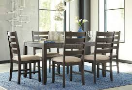 Casual Dining Room Sets by Homelegance Keegan 7 Piece 62x42 Dining Room Set In Brown