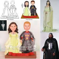 lord of the rings cake topper and aragorn lord of the rings wedding cake toppers