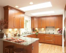 Light Cherry Cabinets Houzz - Light cherry kitchen cabinets