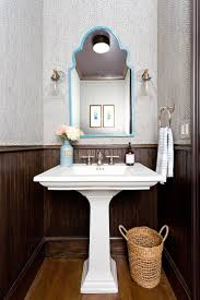 279 best wallpapered bathroom images on pinterest bathroom ideas