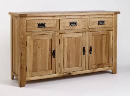 black oak rustic sideboard buffet furniture decor trend