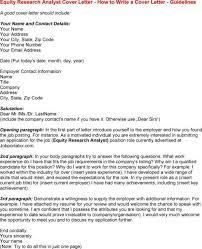 equity strategist cover letter
