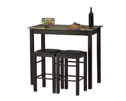 dining room space saving dining table and chairs 5 piece kitchen