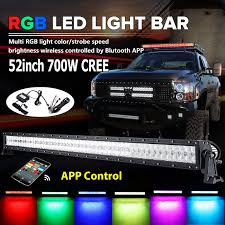 Led Light Bar Color Changing by Speed Tech Lights Ebay