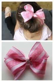 how to make girl bows step by step hair bow tutorial easy toddlers