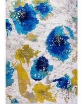Blue Contemporary Rugs Spectacular Deal On Generations Contemporary Pattern Modern Area