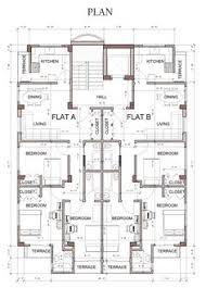 Side Elevation Apartment House Design Revit Pinterest Revit Architecture House Design