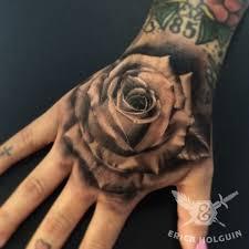 clock tattoo on hand 50 amazing rose hand tattoos