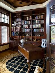 Best Libraries  Home Offices Images On Pinterest Bookcases - Home office library design ideas