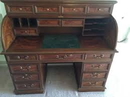 Executive Desk Sale Solid Oak Roll Top Executive Desk Beautiful Quality With Normal